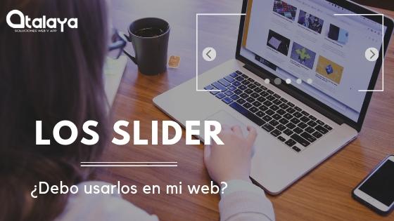 Slider en mi web ¿si o no?